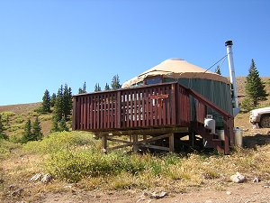 Leadville Backcountry Yurt